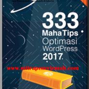Ebook Gratis 333 Maha Tips Optimasi WordPress 2017