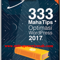 Ebook Gratis 333 Maha Tips Optimasi WordPress 2017
